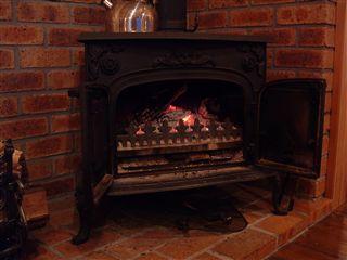 ボイボイの暖炉