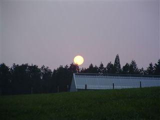 中秋の名月を皆で見よう