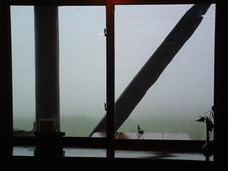 一日霧の中